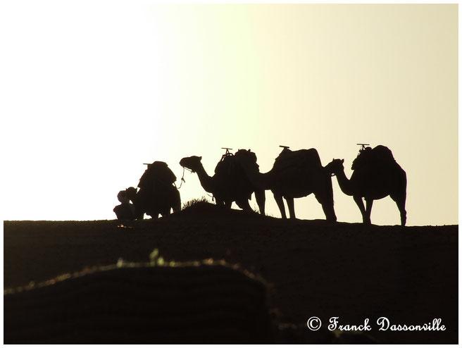 © virees en camping car Maroc
