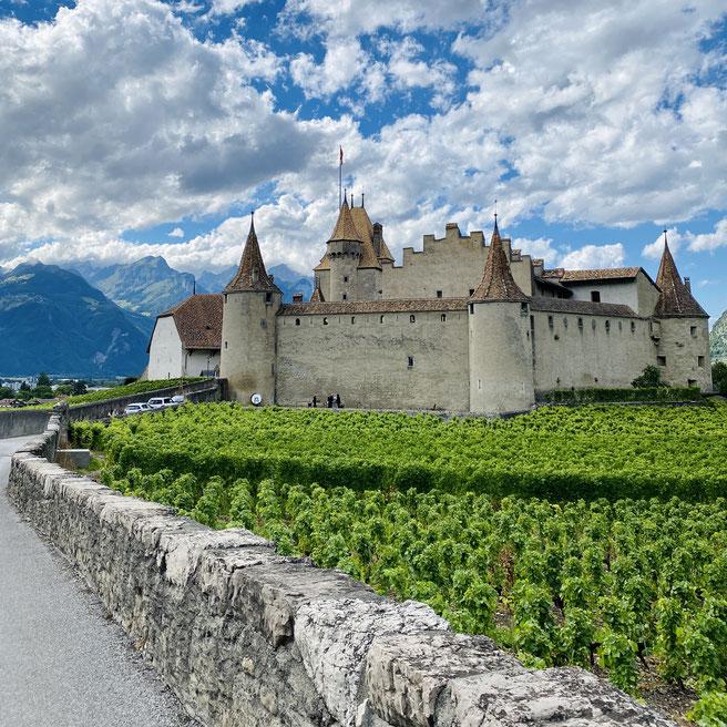 Schloss Aigle, Kanton Waadt