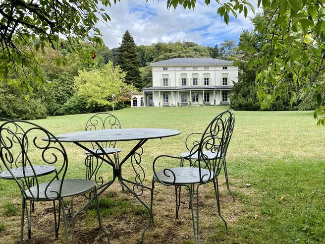 Museum Chaplin's World, Villa von Charlie Chaplin in Vevey, Genferseegebiet, Kanton Waadt