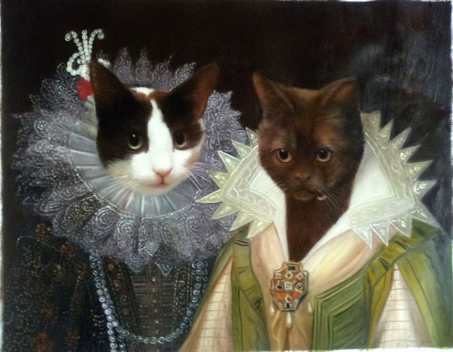 peinture-huile-chat-Thierry-poncelet