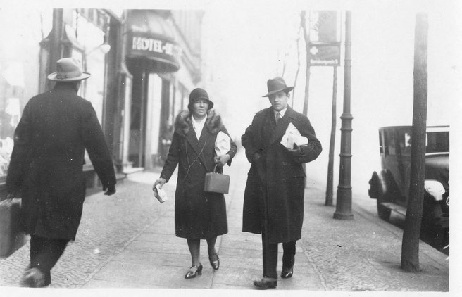Irmgard und Rainer Litten in Berlin