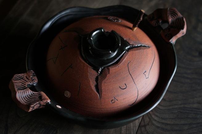 仲本律子 R工房 女性陶芸家 土鍋作品 ブログ Applause土鍋