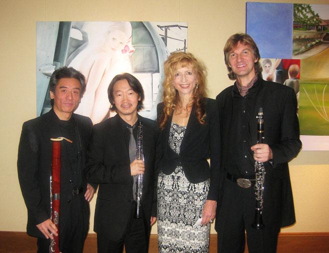 Regina Künzler mit dem Trio d'Anches de Cologne