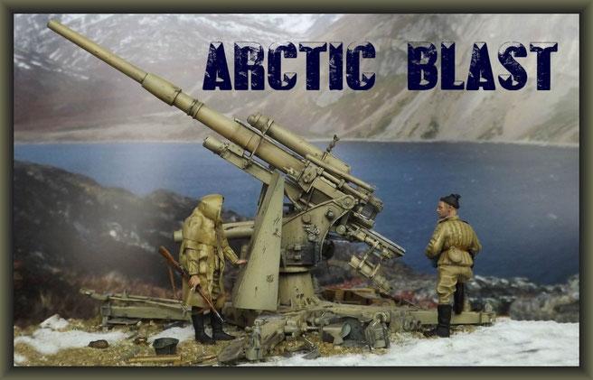 88mm Flak 37 ; Diorama 1:35