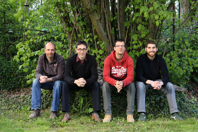 Mathieu Boulet, Denis Joris, Philippe Hambye, Antoine Blanchard