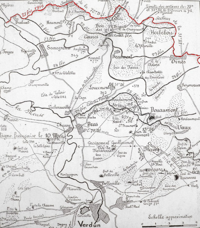 Karte von Infotafel