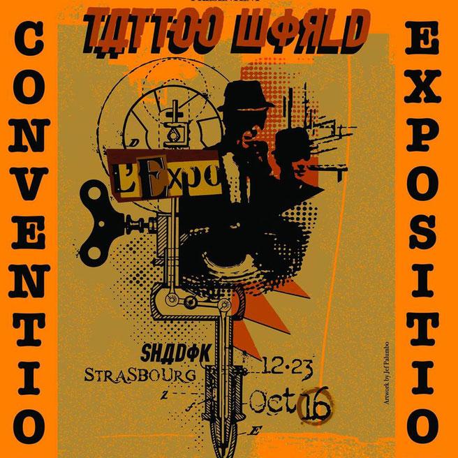 Ce concert a lieu dans le cadre de la convention mondiale du tatouage, le Tattoo World Expo, à Strasbourg du 12 au 23 octobre