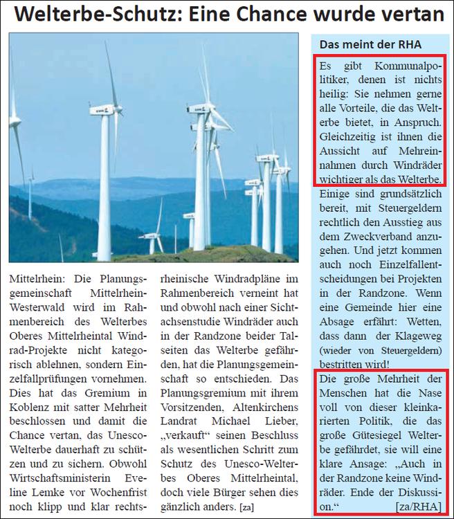 Rhein-Hunsrück-Anzeiger v. 12.08.2015