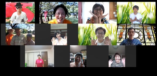 2020年9月5日松阪市鈴の森公園笑いヨガ(ラフターヨガ) オンライン