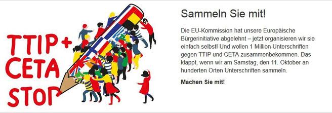 TTIP + CETA STOP