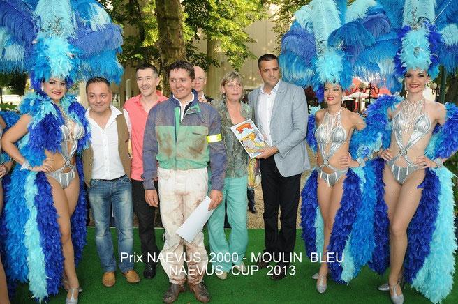 """Avec Miss Prestige National et le cabaret """"le moulin bleu"""""""