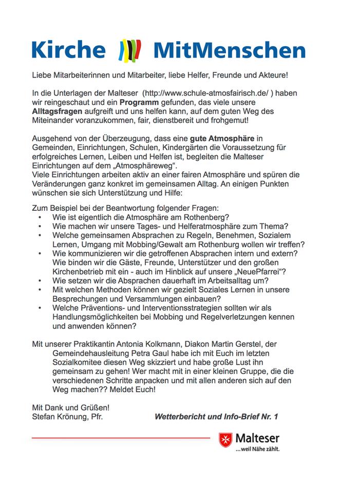 Wetterbericht und Info-Brief Nr. 1 (Kassel, Donnerstag, 17:00 Regen) - Wir starten die Wetterbesserung!