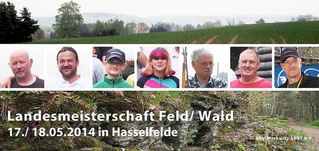 LM Feld/ Wald am 17./ 18.05.2014 in Hasselfelde
