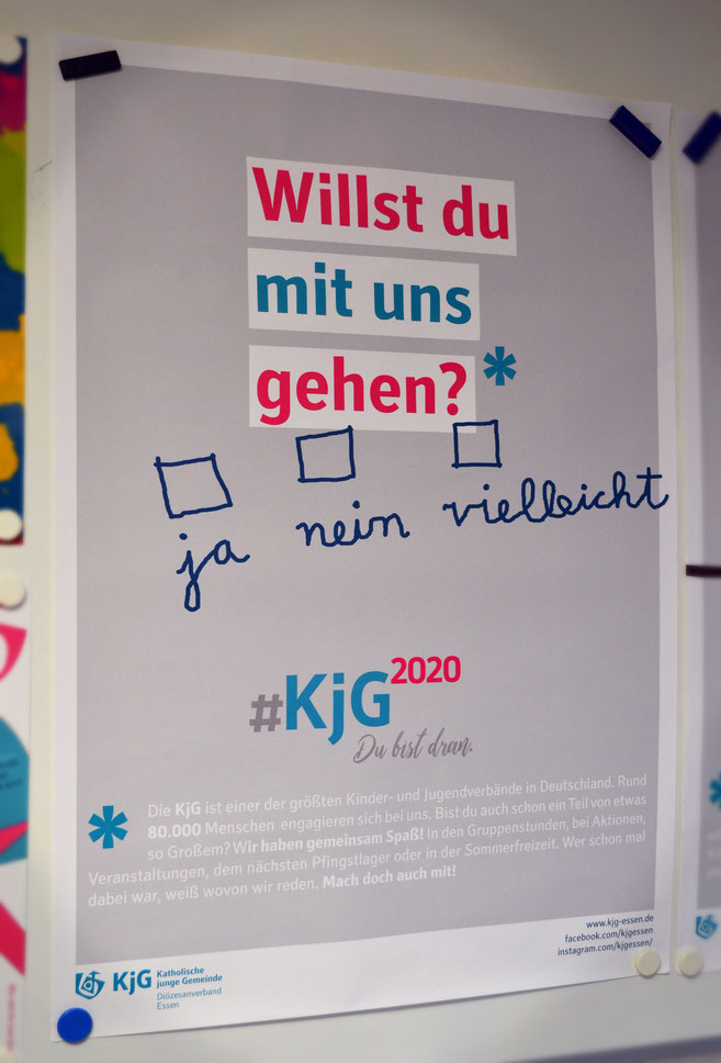Erst im März 2018 gegründet: Die KjG St. Clemens aus Oberhausen-Sterkrade. Hier gerade bei einem Besuch der Kirmes.