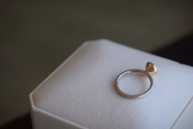 控えめな輝きが貴方らしい ローズカットダイヤモンド