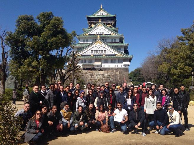 IE Japan オフ日の集合写真