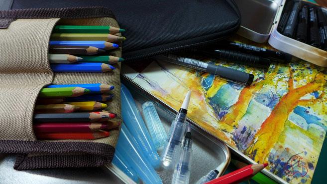 Reisen - Kreativ unterwegs - DIY-Projekt