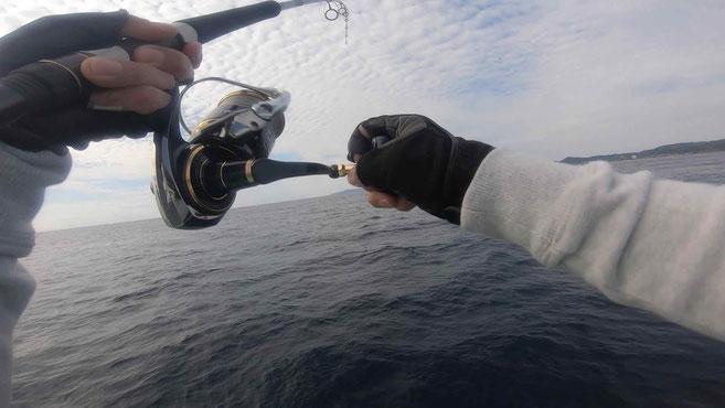 南房総沖 オフショアキャスティング・ジギングで高級魚