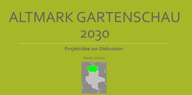 Cover des Grundkonzeptes ALTMARK GARTENSCHAU 2030, c Amanda Hasenfusz
