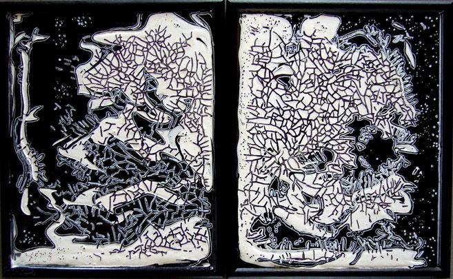 """""""Des astres"""" - 44X27 - 2010"""
