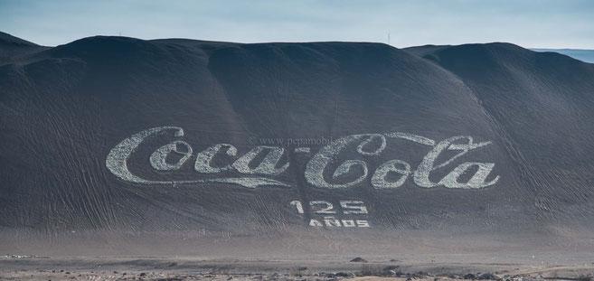Coca Cola auch hier ein beliebtes Getränk