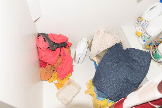 Berge von schmutziger Wäsche!