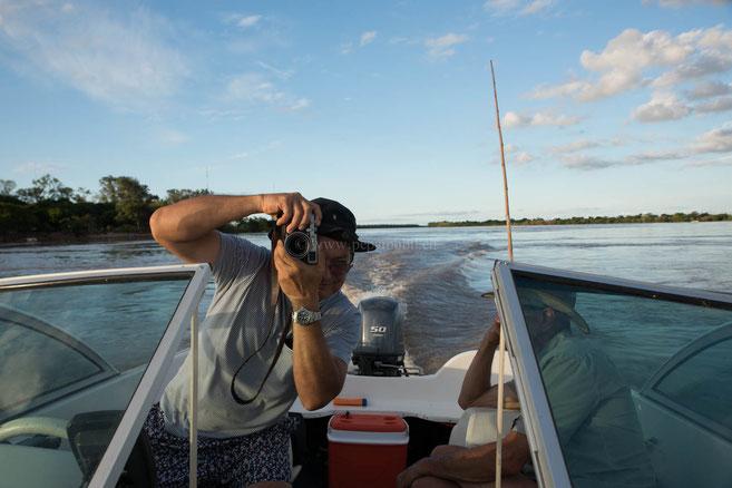 Esteban ein begeisterter Fotograf