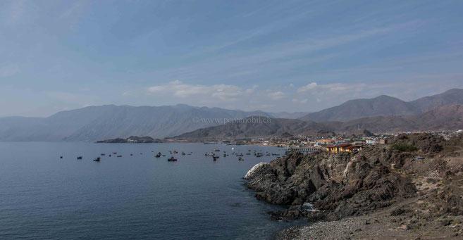 Taltal kleine Ortschaft an der Küste