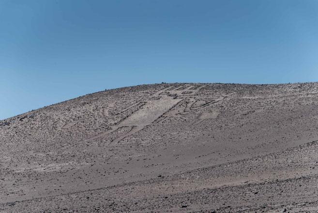 El Gigante 86 m hoch