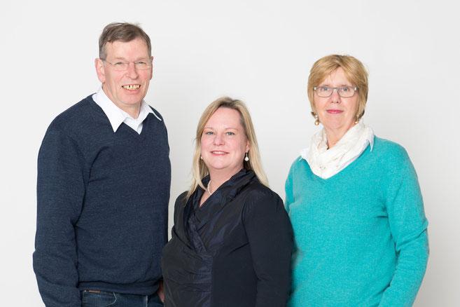 Jürgen Frenz, Hardina Hashagen, Jutta Leng-Frenz
