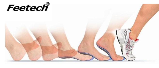 オーダーメイドインソール Feetech