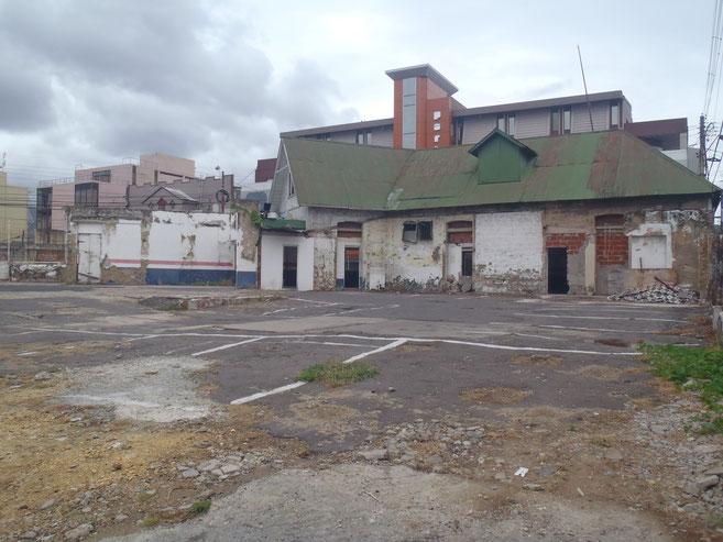 More crumbling buildings.
