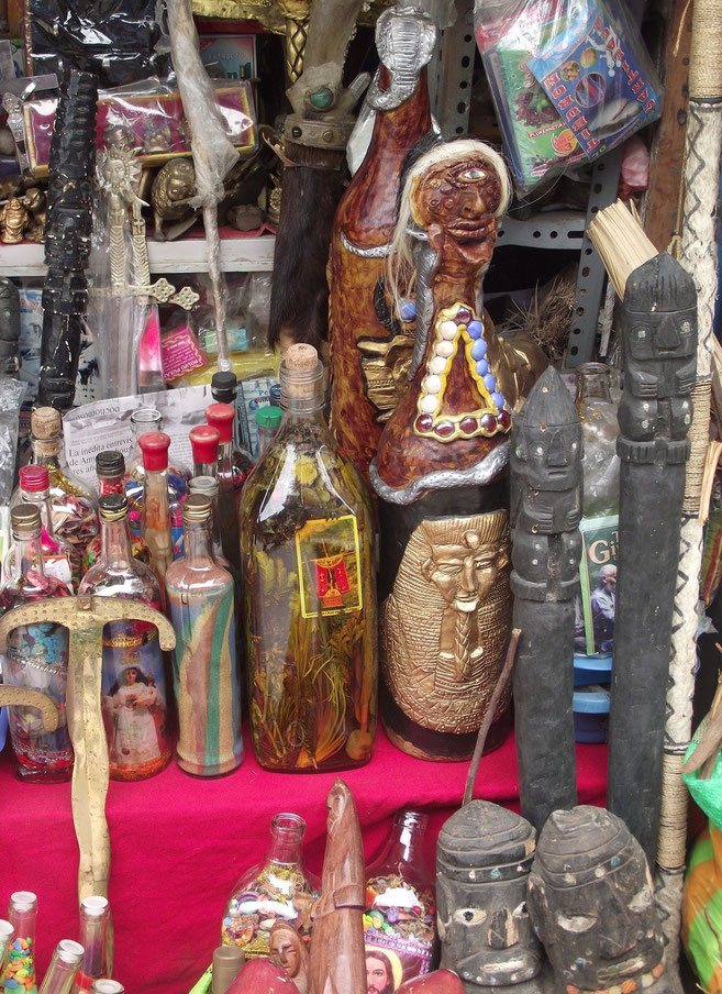 Chiclayo witches market