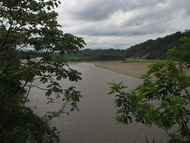 river, Villa Tunari, Bolivia