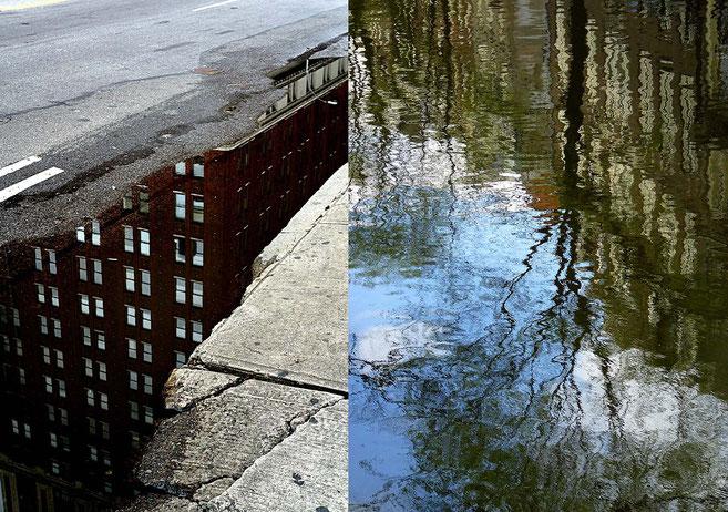 Mathieu Guillochon photographe, USA, New York City, Manhattan, Pays-Bas, Amsterdam, reflets, couleurs