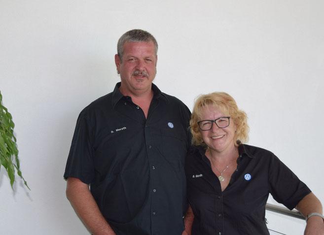 Stefan & Brigitte Merath - Inhaber des Autohaus Feinaigle in Röthenbach im Allgäu