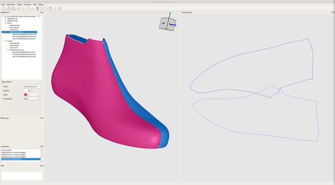 RG Technologies PEAKTOURe 3D Flattening