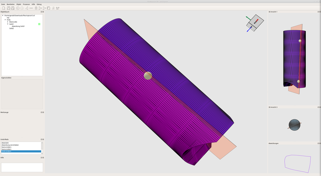 RG Technologies PEAKTOURe 3D Abwicklung