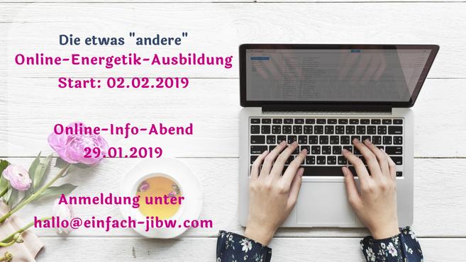 Online-Energetik-Jahres-Ausbildung_Start am Samstag, 19.01.2019_Kostenloser Online-Infoabend am 10.01.2019