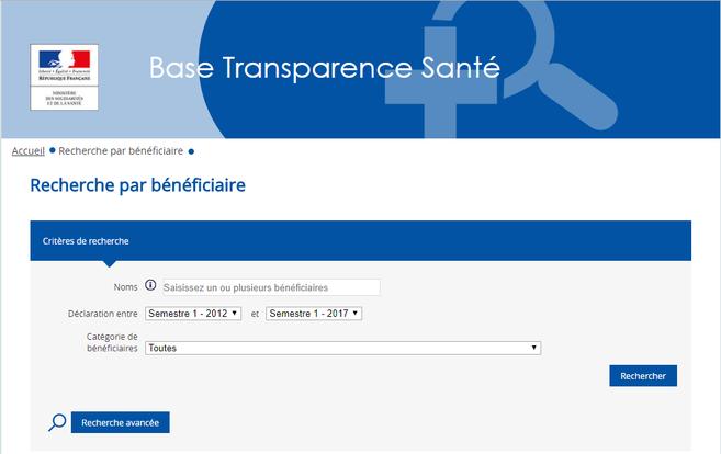 https://www.transparence.sante.gouv.fr/