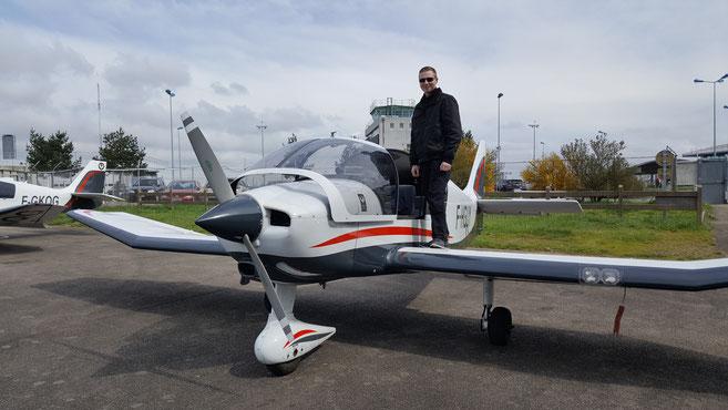 Visite prévol DR400 hop tour des jeunes pilotes htjp tajp
