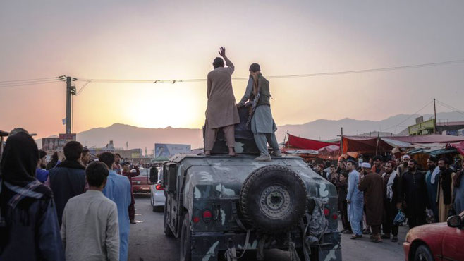 Taliban indtager Kabul