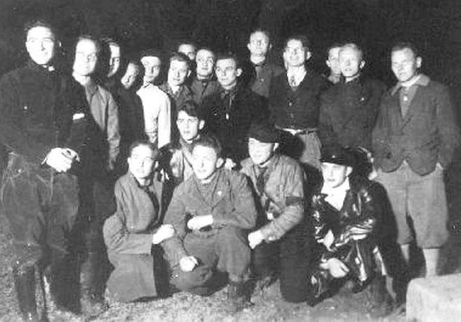 En antifascistisk modstandscelle, Wien 1934