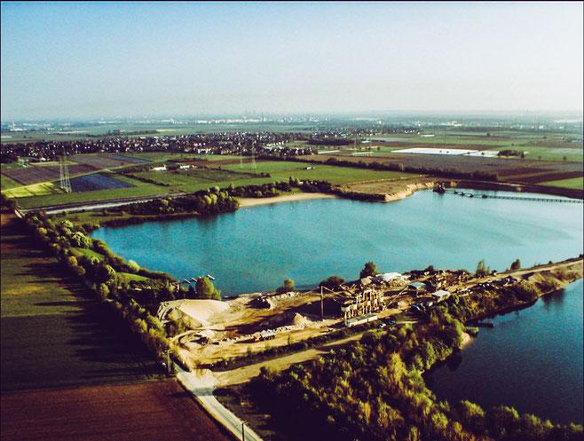Straberger See von Oben / Foto: Caritasverband Rhein-Kreis Neuss e. V.