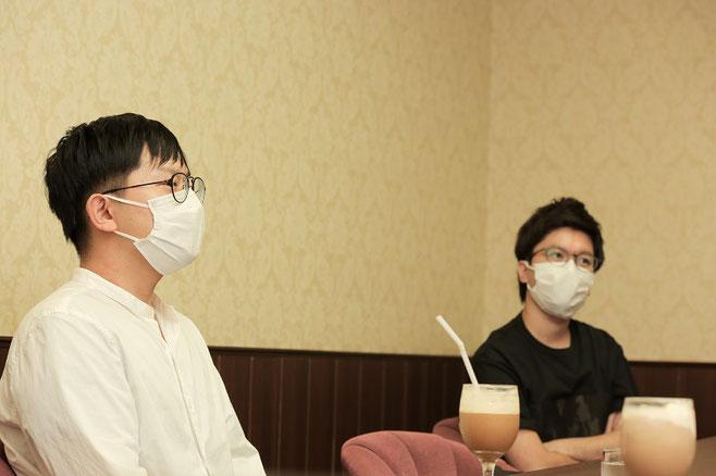 左から並木勇太、池田公介