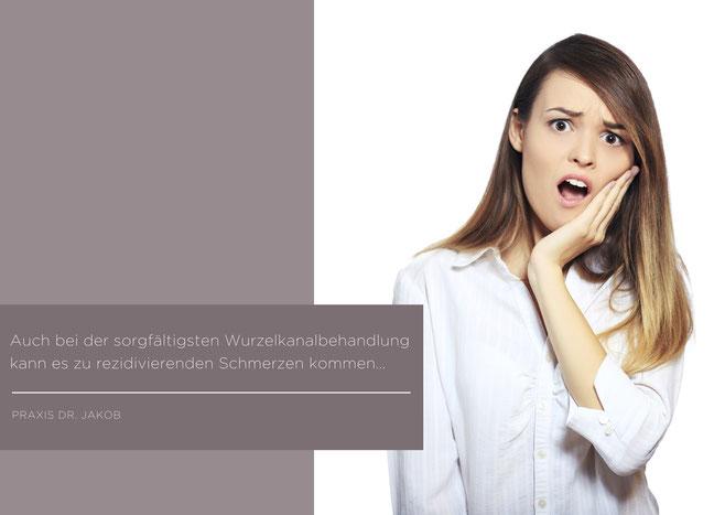 Bild: Wurzelbehandlung, Schmerzen, Zahnschmerzen, Zahnarzt Hamburg, Zahnarzt Empfehlung, Dr. Jacob, Dr. Jakob