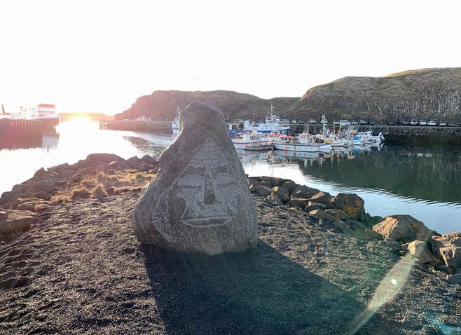 Stykkisholmùr. Vista del porto. Foto di Alessia Paionni