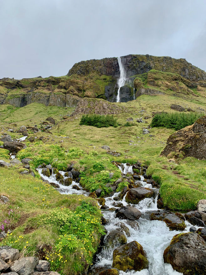 Bjarnafoss. Penisola di Snaefellsnes. Foto di Alessia Paionni