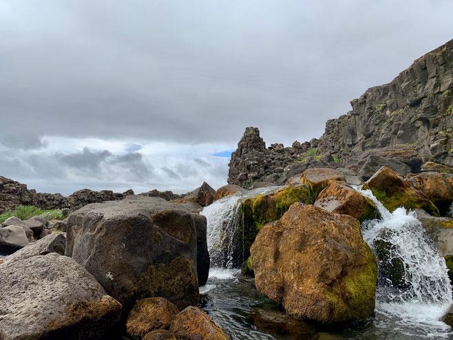 Öxaráfoss nel Parco Naziolane di Thingvellir. Foto di Alessia Paionni