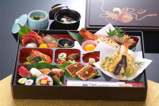桜寿司のさくら御前(全9品)